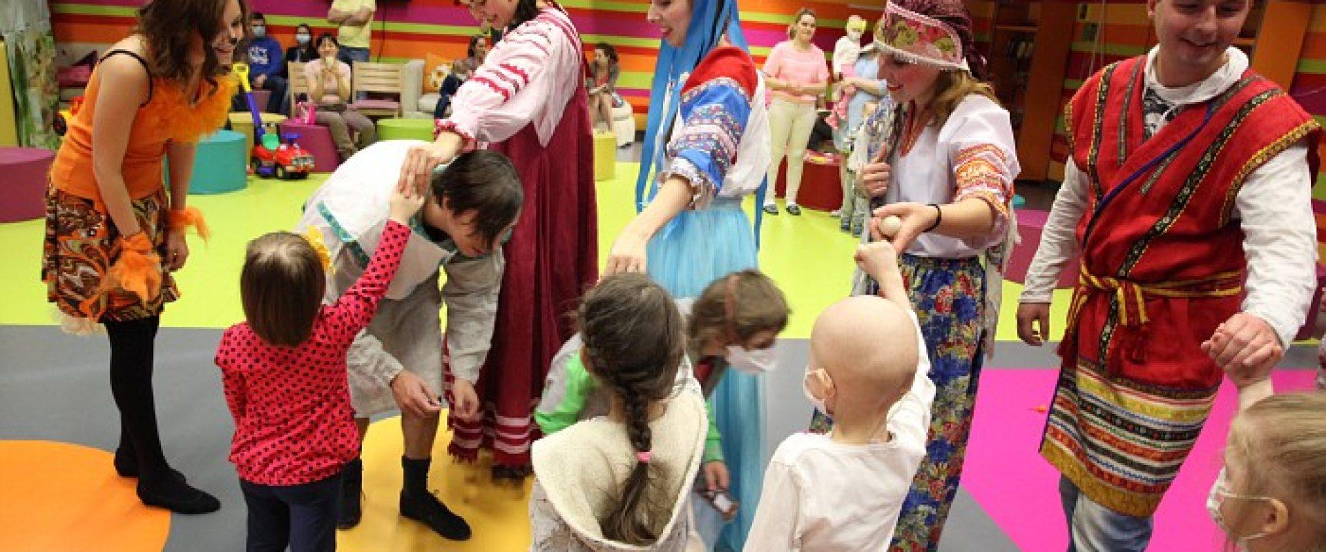 Волонтерская деятельность Даниловцев в больницах
