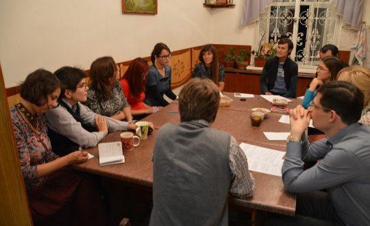 Встреча координаторов волонтерских групп