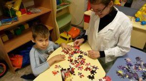 Волонтеры с детьми-инвалидами