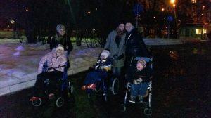 Волонтеры с детьми в ДДИ №15