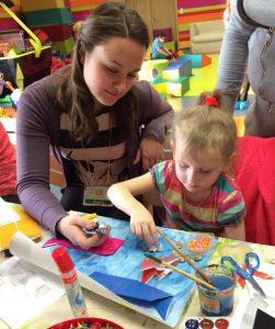 Встречи волонтеров с детьми