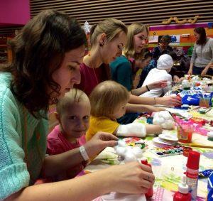 Волонтеры помогают детям в ФНКЦ