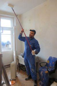 Благотворительный ремонт волонтеров даниловцев