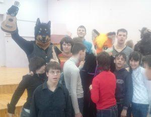 Волонтеры-музыканты дали концерт в Детском доме-интернате