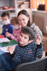 Волонтеры в детской больнице