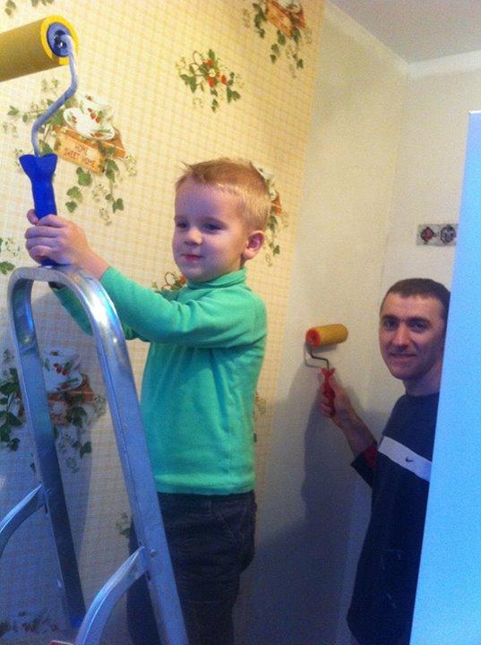 Благотворительный ремонт силами волонтеров