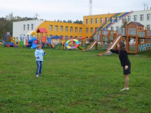 Волонтеры даниловцы в Ступинском приюте