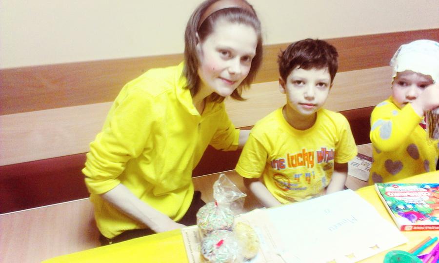 Волонтеры даниловцы в детской больнице