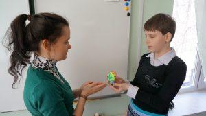 Волонтеры в доме-интернате для детей-инвалидов
