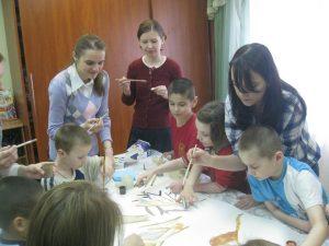 Волонтеры даниловцы в приюте Зюзино