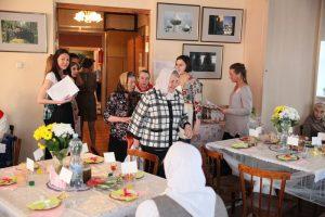 Благотворительный ужин волонтеров