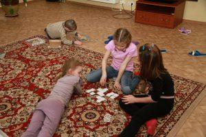 Волонтеры в детском приюте Ступино