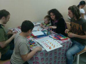 Волонтеры в детской больнице РДКБ