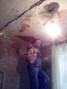 Даниловцы ремонтируют