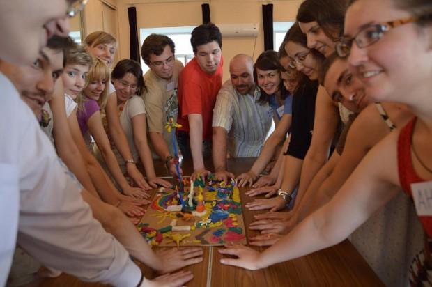 Учебный курс «Что значит быть координатором волонтерской группы» завершился деловой игрой