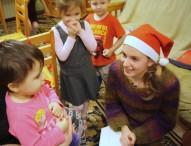 Накануне Крещения даниловцы посетили Пансион семейного воспитания в Одинцово