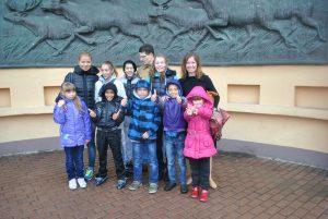 Даниловцы в детском приюте в Кунцево