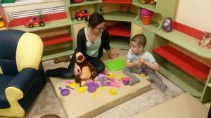 Волонтеры в детском доме
