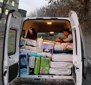 Волонтеры помогают