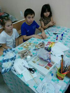 Волонтеры движения Даниловцы в детской больнице