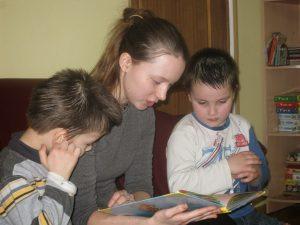 Волонтеры в детских приютах