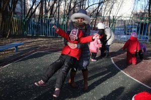 Волонтеры в детском доме-интернате