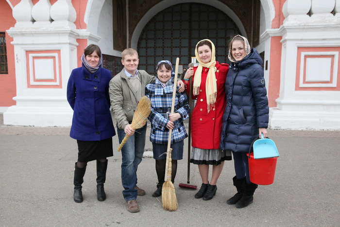 Волонтеры даниловцы