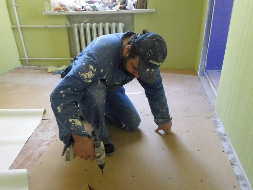 Волонтеры ремонт