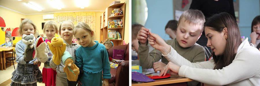 дети в приютах и интернатах