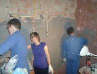 Даниловцы помогают с ремонтом