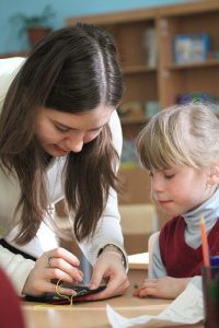 Волонтеры в школе-интернате