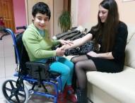 Первая встреча с особенными детьми в ДДИ №15