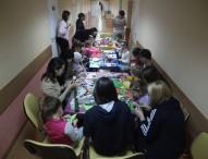 Волонтёрская группа в РДКБ. Отчет 2015