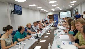 Юрий Белановский выступил в Воронеже с докладом о волонтерстве