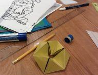 Оригами — бумажное кольцо